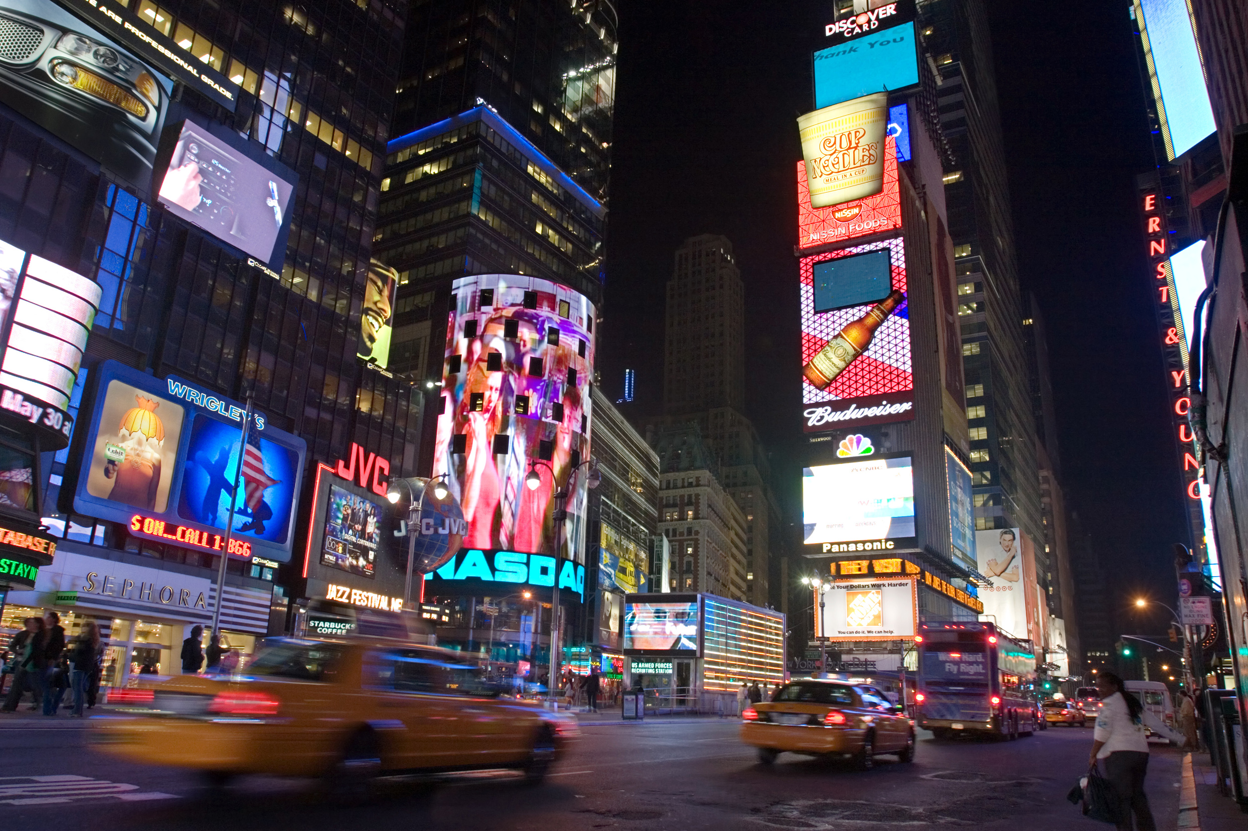 Times Square_ audiovisual