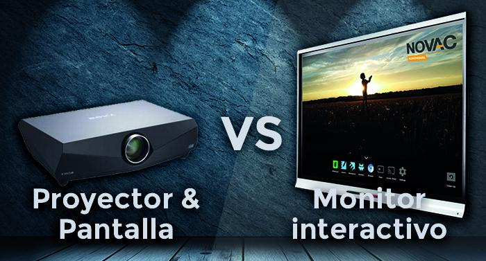 monitor vs proyector